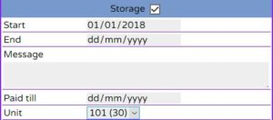 Adding storage for order quote